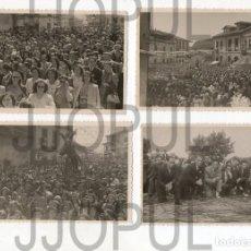 Fotografía antigua: NOREÑA. ASTURIAS. CONJUNTO DE 21 FOTOGRAFIAS. FOTO LASTRA. H. 1950. Lote 191554565