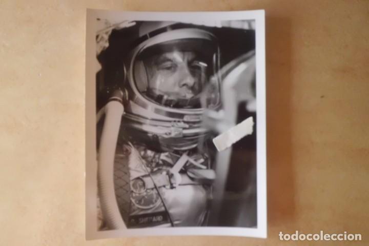 FOTOS ORIGINALES DEL PRIMER ASTRONAUTA AMERICANO, AMERIZAJE AÑOS 60 (Fotografía Antigua - Gelatinobromuro)