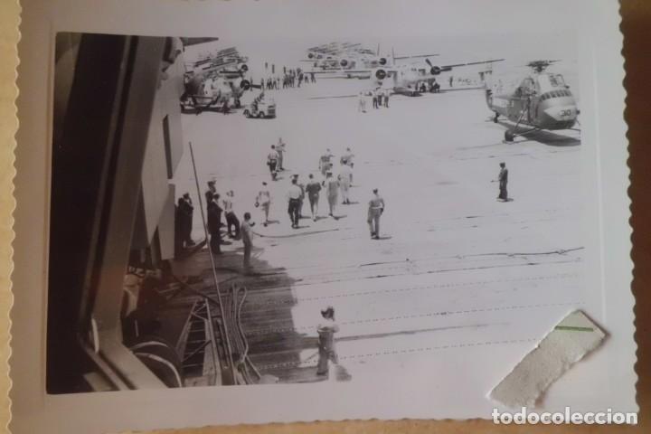 Fotografía antigua: FOTOS ORIGINALES DEL PRIMER ASTRONAUTA AMERICANO, AMERIZAJE AÑOS 60 - Foto 8 - 192392040