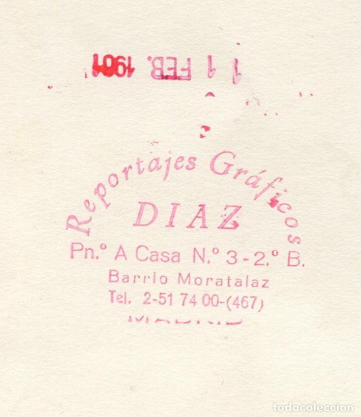 Fotografía antigua: Grupo de caballeros con disfraces de carnaval, 1961. Reportajes Díaz, Moratalaz, Madrid - Foto 2 - 193581010