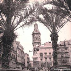 Fotografía antigua: VALENCIA FALLAS NEGATIVO 6 X 6 CM.. Lote 193765082
