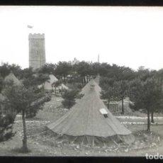 Fotografía antigua: *CAMPAMENTO MILITAR LOS CASTILLEJOS* LOTE 3 FOTOS. MEDS: 90X140 MMS. FECHA 1960-61. Lote 193952243