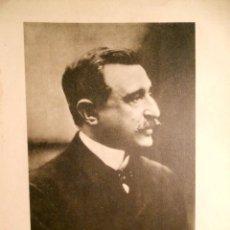 Fotografía antigua: GUILLEM Mª DE BROCÀ I DE MONTAGUT - JURISTA 1850-1918 - RETRATO. Lote 194078948