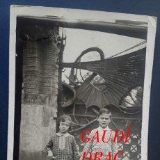 Fotografía antigua: GAUDÍ - DRAC - MODERNISME - 1930'S . Lote 194128406