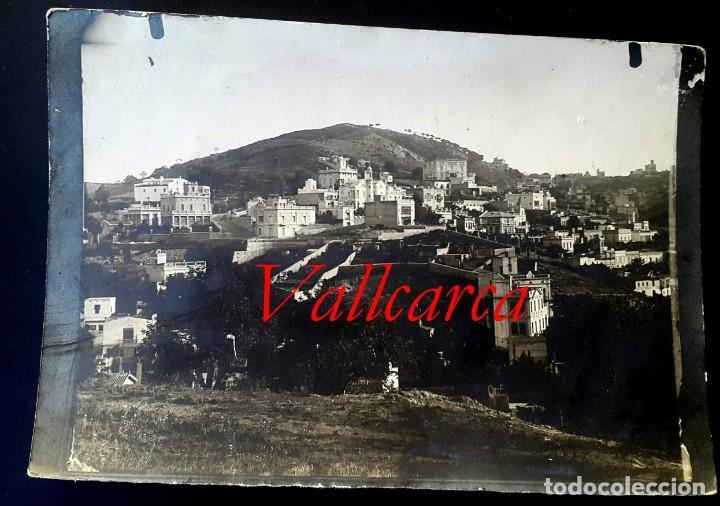 VALLCARCA - BARCELONA - 1900 - 1910 (Fotografía Antigua - Gelatinobromuro)