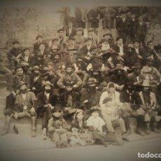 Fotografía antigua: NAVARRA.VERA DE BIDASOA. FOTOGRAFIA DE I.FADRIQUE. IRUN. CARNAVALES 17X24CM. . Lote 194273711