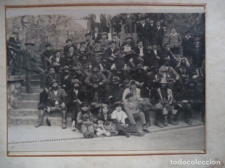 Fotografía antigua: NAVARRA.VERA DE BIDASOA. FOTOGRAFIA DE I.FADRIQUE. IRUN. CARNAVALES 17X24CM. - Foto 2 - 194273711