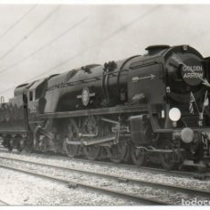 Fotografía antigua: FOTOGRAFÍA LOCOMOTORA GOLDEN ARROW. . Lote 194528236
