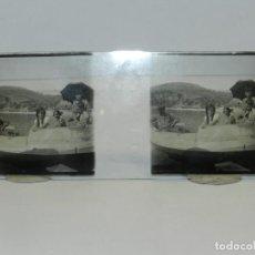 Fotografía antigua: (M) NEGATIVO DE CRISTAL - ARENYS DE MAR 10,5X4,5CM, BUEN ESTADO. Lote 194699103