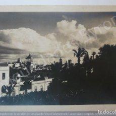 Fotografía antigua: FOTOGRAFÍA ANTIGUA. ICOD. TENERIFE. SELLO BAENA (18 X 13 CM). Lote 194725353