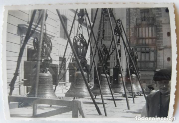 Fotografía antigua: ALCOY SANTA MARIA SUBIDA DE CAMPANAS LOTE 11 FOTOGRAFIAS - Foto 2 - 194866196