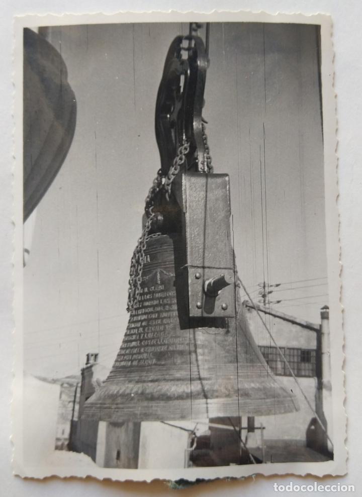 Fotografía antigua: ALCOY SANTA MARIA SUBIDA DE CAMPANAS LOTE 11 FOTOGRAFIAS - Foto 7 - 194866196