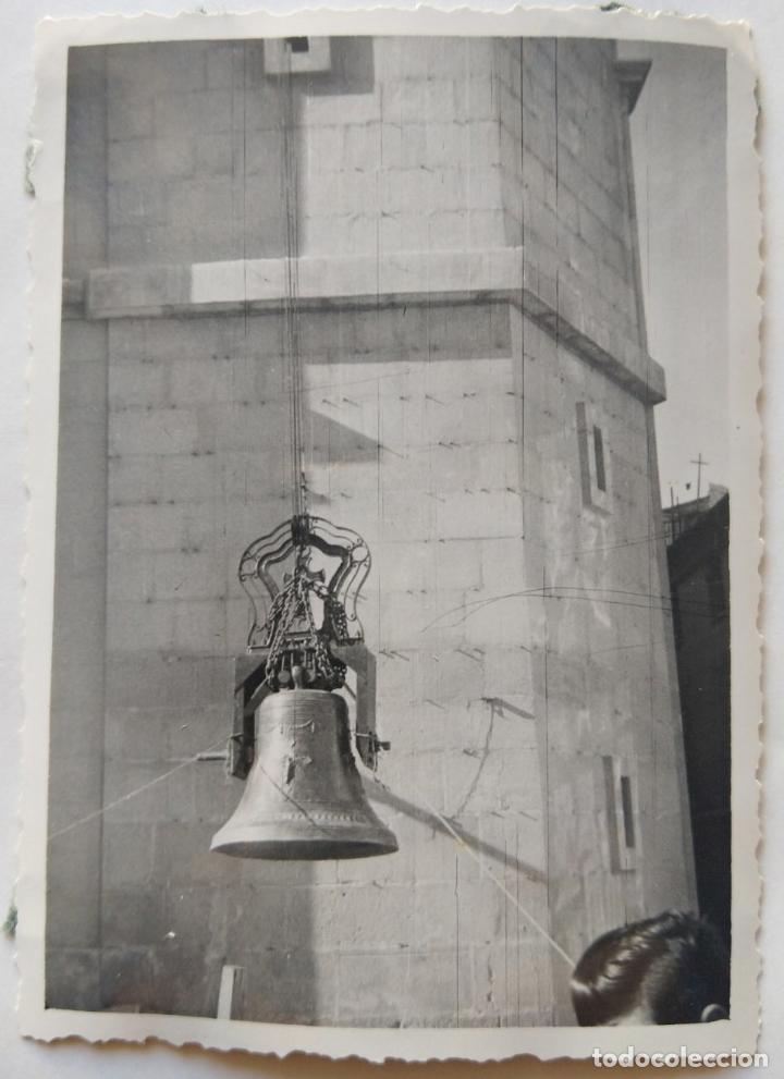 Fotografía antigua: ALCOY SANTA MARIA SUBIDA DE CAMPANAS LOTE 11 FOTOGRAFIAS - Foto 8 - 194866196