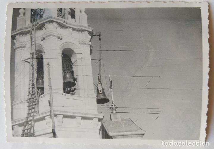 Fotografía antigua: ALCOY SANTA MARIA SUBIDA DE CAMPANAS LOTE 11 FOTOGRAFIAS - Foto 9 - 194866196