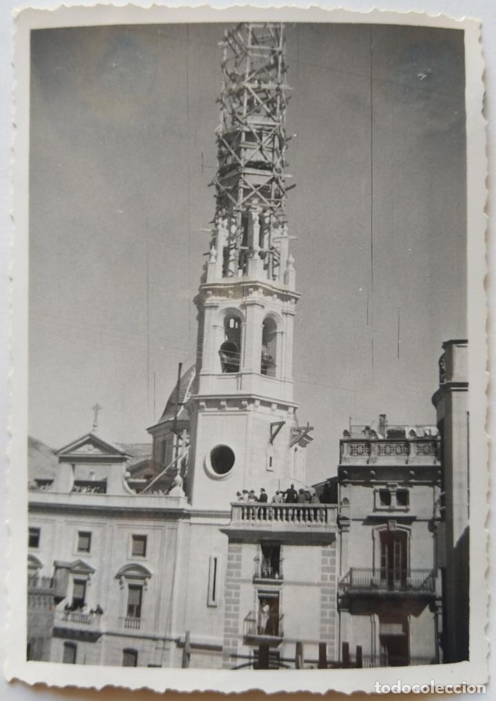 Fotografía antigua: ALCOY SANTA MARIA SUBIDA DE CAMPANAS LOTE 11 FOTOGRAFIAS - Foto 10 - 194866196