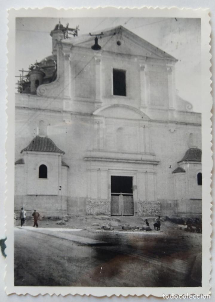 Fotografía antigua: ALCOY SANTA MARIA SUBIDA DE CAMPANAS LOTE 11 FOTOGRAFIAS - Foto 11 - 194866196