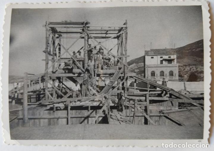ALCOY CONSTRUCCION DE SANT MAURO LOTE 15 FOTOGRAFIAS (Fotografía Antigua - Gelatinobromuro)