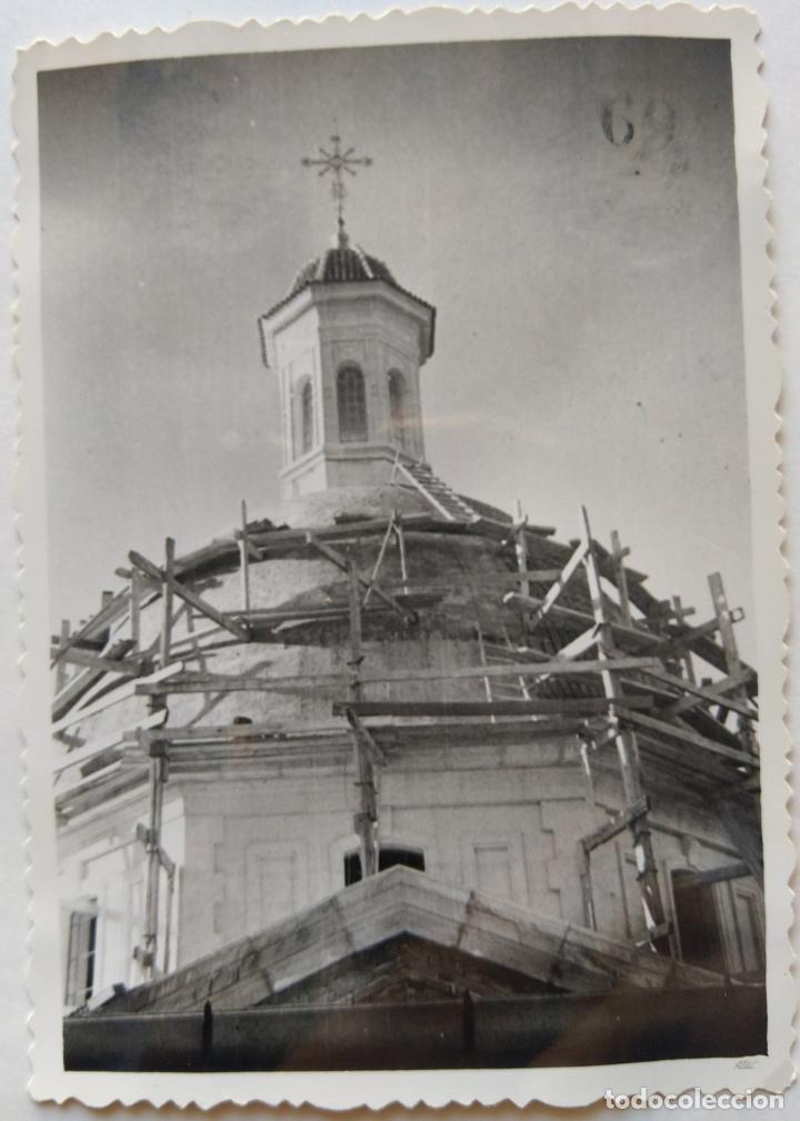 Fotografía antigua: ALCOY CONSTRUCCION DE SANT MAURO LOTE 15 FOTOGRAFIAS - Foto 5 - 194866733