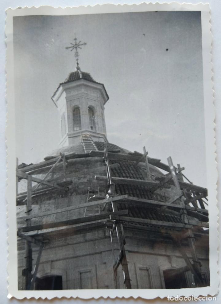 Fotografía antigua: ALCOY CONSTRUCCION DE SANT MAURO LOTE 15 FOTOGRAFIAS - Foto 6 - 194866733