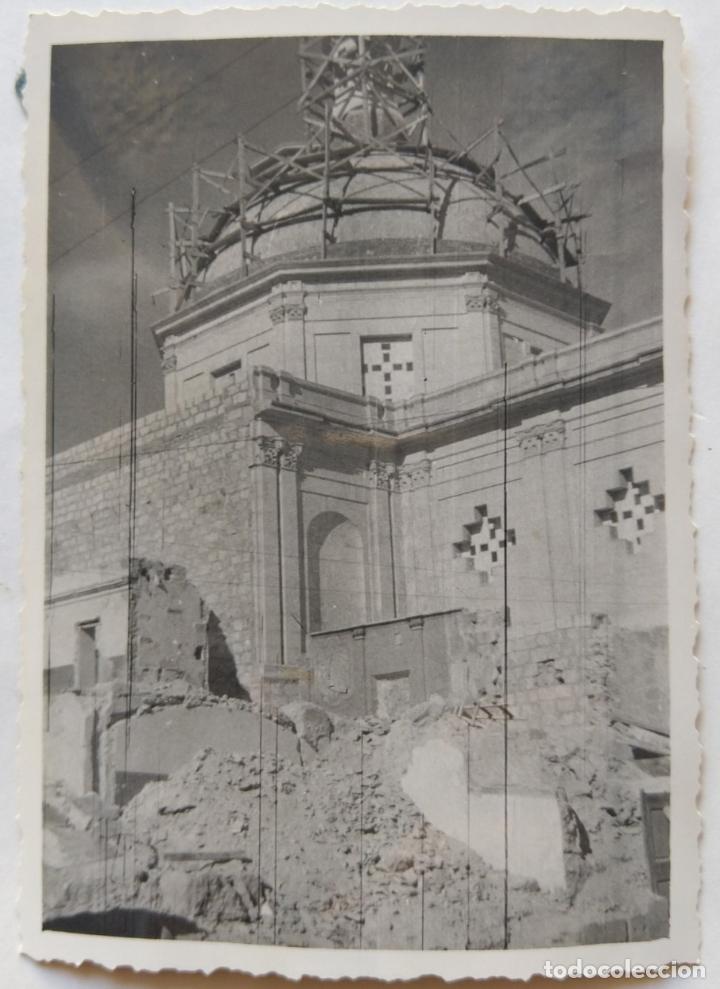 Fotografía antigua: ALCOY CONSTRUCCION DE SANT MAURO LOTE 15 FOTOGRAFIAS - Foto 7 - 194866733