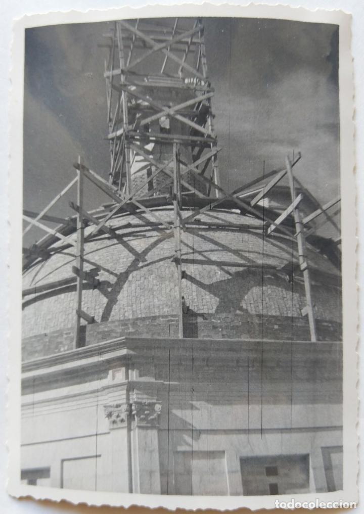 Fotografía antigua: ALCOY CONSTRUCCION DE SANT MAURO LOTE 15 FOTOGRAFIAS - Foto 8 - 194866733