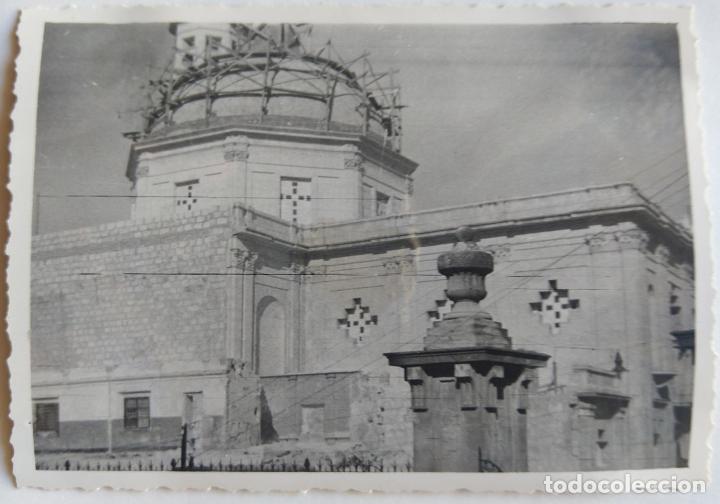 Fotografía antigua: ALCOY CONSTRUCCION DE SANT MAURO LOTE 15 FOTOGRAFIAS - Foto 9 - 194866733