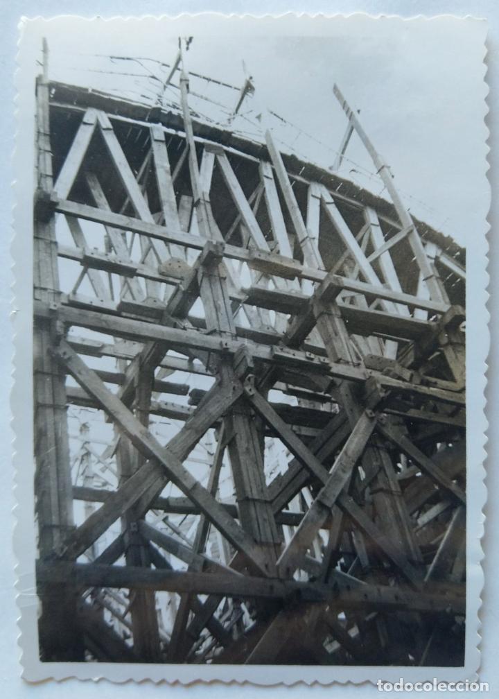 Fotografía antigua: ALCOY CONSTRUCCION DE SANT MAURO LOTE 15 FOTOGRAFIAS - Foto 10 - 194866733