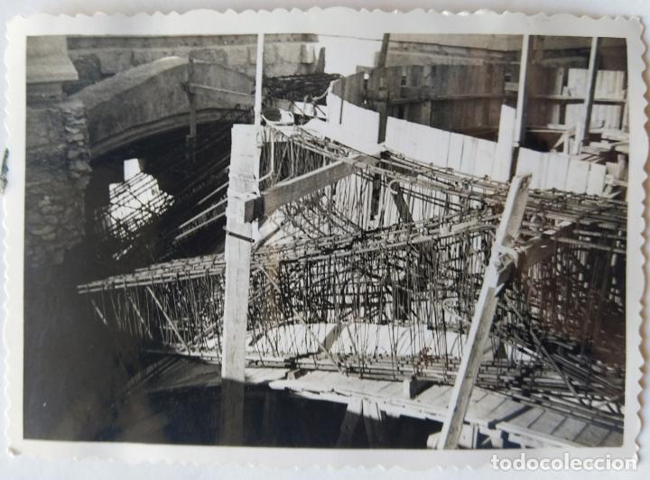 Fotografía antigua: ALCOY CONSTRUCCION DE SANT MAURO LOTE 15 FOTOGRAFIAS - Foto 11 - 194866733