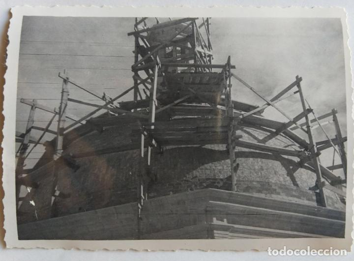 Fotografía antigua: ALCOY CONSTRUCCION DE SANT MAURO LOTE 15 FOTOGRAFIAS - Foto 13 - 194866733