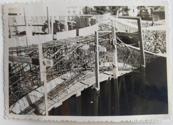 Fotografía antigua: ALCOY CONSTRUCCION DE SANT MAURO LOTE 15 FOTOGRAFIAS - Foto 14 - 194866733