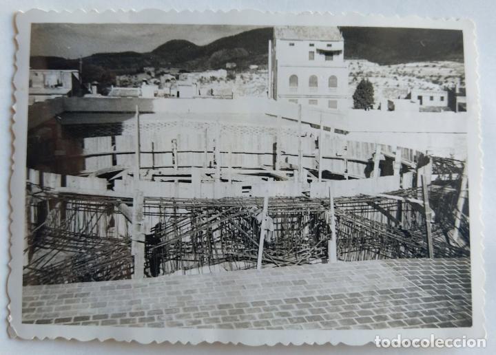 Fotografía antigua: ALCOY CONSTRUCCION DE SANT MAURO LOTE 15 FOTOGRAFIAS - Foto 15 - 194866733