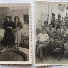 Fotografía antigua: ALBERIC LOTE 2 FOTOGRAFIAS. Lote 194867776
