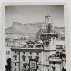 Fotografía antigua: ALCOY ACTOS DE LA CORONACION VIRGEN DE LOS LIRIOS LOTE 11 FOTOGRAFIAS. Lote 194922235