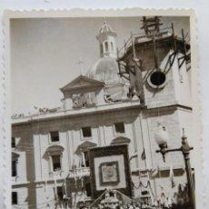 Fotografía antigua: ALCOY ACTOS DE LA CORONACION VIRGEN DE LOS LIRIOS LOTE 11 FOTOGRAFIAS. Lote 194922505