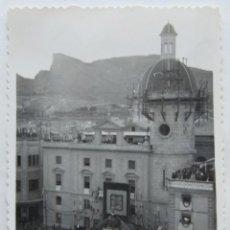 Fotografía antigua: ALCOY ACTOS DE LA CORONACION VIRGEN DE LOS LIRIOS LOTE 11 FOTOGRAFIAS. Lote 194922858