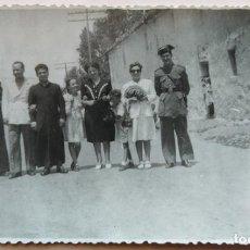 Fotografía antigua: GUARDIA CIVIL PUEBLO DE VALENCIA . Lote 195013082
