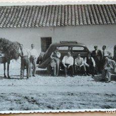 Fotografía antigua: PUEBLO DE VALENCIA LOTE DE 2 FOTOGRAFIAS. Lote 195013187