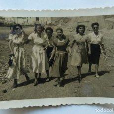 Fotografía antigua: PUERTO DE CABRAS FUERTEVENTURA. Lote 195198695