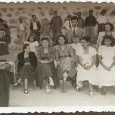 Fotografía antigua: PUERTO DE CABRAS FUERTEVENTURA 1948. Lote 195198781