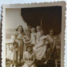 Fotografía antigua: PUERTO DE CABRAS FUERTEVENTURA 1948. Lote 195198826
