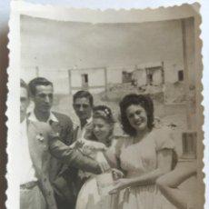 Fotografía antigua: PUERTO DE CABRAS FUERTEVENTURA 1950. Lote 195198877
