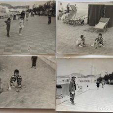 Fotografía antigua: LAS PALMAS LOTE DE 3 FOTOGRAFIAS . Lote 195203078