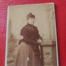 Fotografía antigua: SEÑORA. ESPERON. Lote 195400212