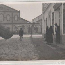 Fotografía antigua: SEVILLA 1924 VISTA DE LA FÁBRICA Y LITOGRAFÍA GALLARDO Y NUÑEZ NO FIGURA FOTÓGRAFO. 13 X 10,50 CM. Lote 195414595