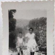 Fotografía antigua: TORRE DE NAQUERA AGOSTO 1947. Lote 195544342