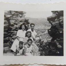 Fotografía antigua: TORRE DE NAQUERA AGOSTO 1947. Lote 195544490