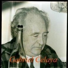 Fotografía antigua: GABRIEL CELAYA - POETA . Lote 196801522