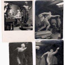 Fotografía antigua: JAUME MARTRUS ( MANRESA 1889-1966 ) LOTE DE 109 FOTOGRAFÍAS DEL ESCULTOR Y SU OBRA. VER FOTOS ANEXAS. Lote 196977757