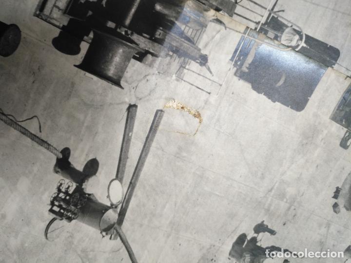 Fotografía antigua: ANTIGUA GIGANTEZCA FOTOGRAFIA ORIGINAL TAMAÑO POSTER ASTILLEROS ESPAÑOLES CADIZ BARCO - Foto 15 - 197413855