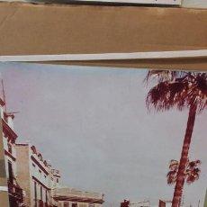 Fotografía antigua: MAGNIFICA FOTOGRAFIA DE LA PANDEROLA POR PLAZA DE LA PAZ EN CASTELLÓ TAMAÑO 50X70. Lote 197766006